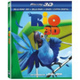 Rio Bluray 3d + Blu-ray + Dvd / Copia Digital
