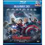 Filme Blu-ray - Vingadores - Era De Ultron 3d