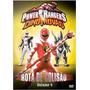 Dvd Power Rangers Dino Trovão - Rota De Colisão Vol.4 (semi