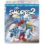 Filme Os Smurfs 2 Blu-ray+blu-ray 3d+dvd Original E Lacrado