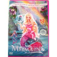 Dvd 9580 Barbie Mermaidia - A Sereia Dvd Dublado