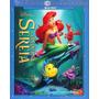 Blu-ray A Pequena Sereia Ed. Diamante Original Br C/ Luva