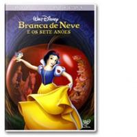 Branca De Neve E Os Sete Anões Dvd Duplo Novo Lacrado Disney