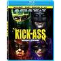 Blu-ray Kick-ass - 3 Discos [ Bd + Dvd + Dc] + Luva Externa