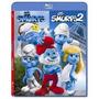 Smurfs 1 E 2 - Blu Ray Duplo, Dub/leg, Lacrado