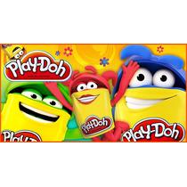 Massinha Play-doh - 4 Potes Brand - Hasbro Massa De Modelar
