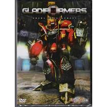 Dvd Frete Grátis - Gladiformers - Robôs Gladiadores, Desenho