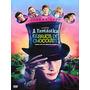 A Fantástica Fábrica De Chocolate (2005) Dvd Original Wonka