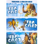 Dvd A Era Do Gelo - Trilogia (3 Dvds) Original E Lacrado
