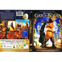 Dvd Gato De Botas - Frete Grátis