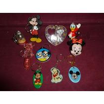 Lote C/ 10 Chaveiros De Coleção - Disney.