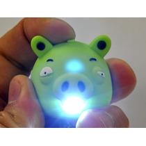Chaveiro Angry Birds Porquinho Com Luz E Som + Brinde!