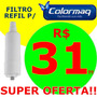 Refil Filtro Colormaq - Na Compra De 3 Unidades Frete Gratis