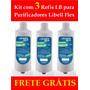 Refil Lb Libell Acqua Flex Filtro Vela Purificador