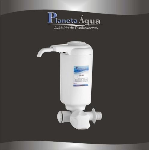 Filtro De Agua Ideale Branco Com Torneira