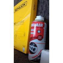 Kit Higienizacao Ar Condicionado Filtro + Spray Fiesta 03/..