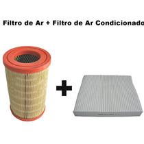 Filtro Ar + Filtro Ar Condicionado Gm S10 2.4 8v 2012/2014