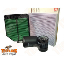 Kit De Filtros Ar Oleo Combustivel Cabine New Civic 1.8 16v