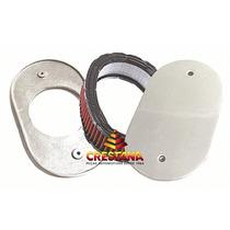 Base Filtro Em Aluminio Esportivo Carburador 2e 3e (marmita)