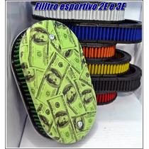 Filtro Para Carburadores 2e 3e Em Hidro Pintura Tema Dolar