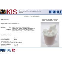Filtro Combustível Kia Carens Cerato 2.0 Hyundai I30 Mahle