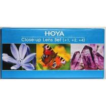 Kit Hoya De Lentes Close-up Para Macro Fotografia 77mm