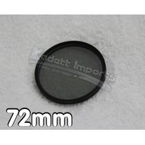 Filtro Polarizador 72mm * Canon Nikon Panasonic Sony