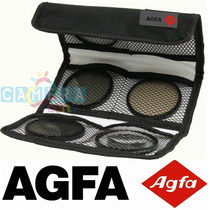 Agfa Kit 3 Filtros: Uv Cpl Warm Canon Rebel 58mm T2 T3 T4 T5