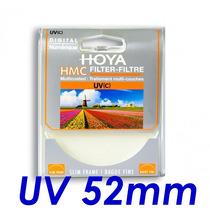 Filtro Uv Hmc Hoya Original 52mm P/ Lentes Canon E Nikon