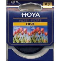 Filtro Cpl Polarizador Hoya 52mm Original P/ Canon Nikon