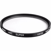 Filtro Uv 52mm Hoya Super Hmc Uv(0) P/ Nikon Canon Sony Fuji