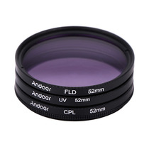 Filtro 52mm Filtro Uv + Cpl + Fld 52 Mm Pronta Entrega
