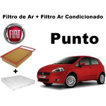 Filtro Ar + Filtro Ar Cabine Punto 1.6 16v E.torq Após 2010
