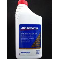 Óleo Sintético Para Motor Original Acdelco 5w30 Api Sn