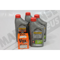 Kit Oleo Havoline Sintetico 5w-30 Corsa Celta Fiesta Mp154