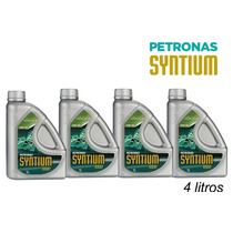 Kit Com 4 Litros Oleo 10w40 Petronas Syntium Semissintetico