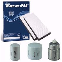 Kit Filtro Cabine, Oleo, 2 Combustivel Frontier 08/.. Tecfil