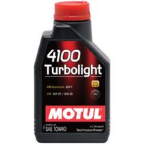 Óleo Motul 4100 Turbolight (semi-sintético) 10w40 1l