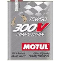 Óleo Motul 300v Competition 15w50 2 Lts 100% Sintético