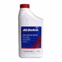 Óleo Motor Mineral Sae 20w50 Api Sj Acdelco