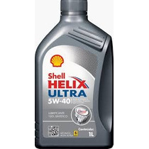 Oleo De Motor Shell Helix Ultra 5w40 Api Sn Sintético 1l