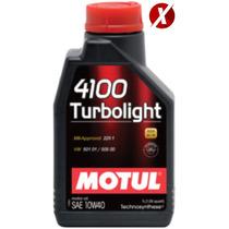 Óleo Motul 4100 Turbolight 10w40 Semi-sintético 4 Litros