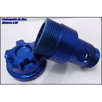 Prolongador Respiro Oleo Fusca Vw Motor A Ar Carburado Azul