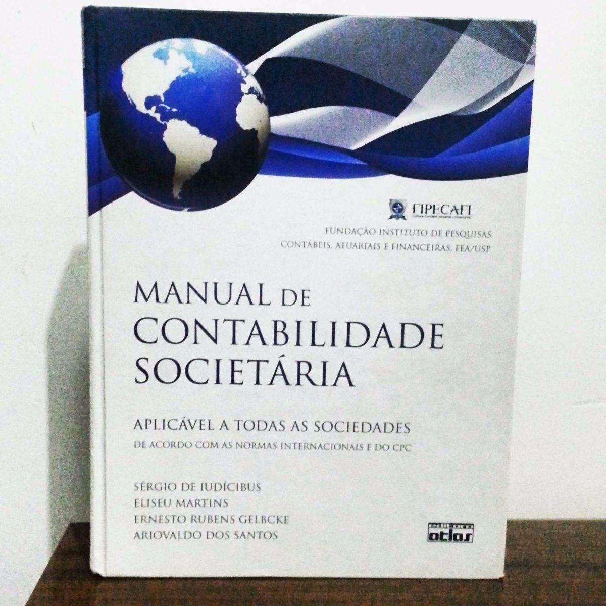 Fipecafi Manual De Contabilidade Societária - Ed Atlas - R