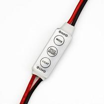 Mini Controlador 12v Dimmer Strobo Fita Led E Lâmpadas