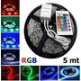 Fita Super Led 5mt Rgb 5050 Colorida Prova D