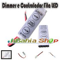 Mini Controlador Dimmer 12v Strobo Flash Fita Led E Lampadas