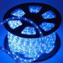 Mangueira Led 100 Metros Luminosa - Azul Intenso 127v