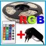 Fita Ultra Led 5050 Prova Dágua Rgb 300 Leds Rolo 5 Metros!