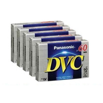 Kit Fita Mini Dv P/ Filmadora Panasonic Ay-dvm-60ej 5 Und